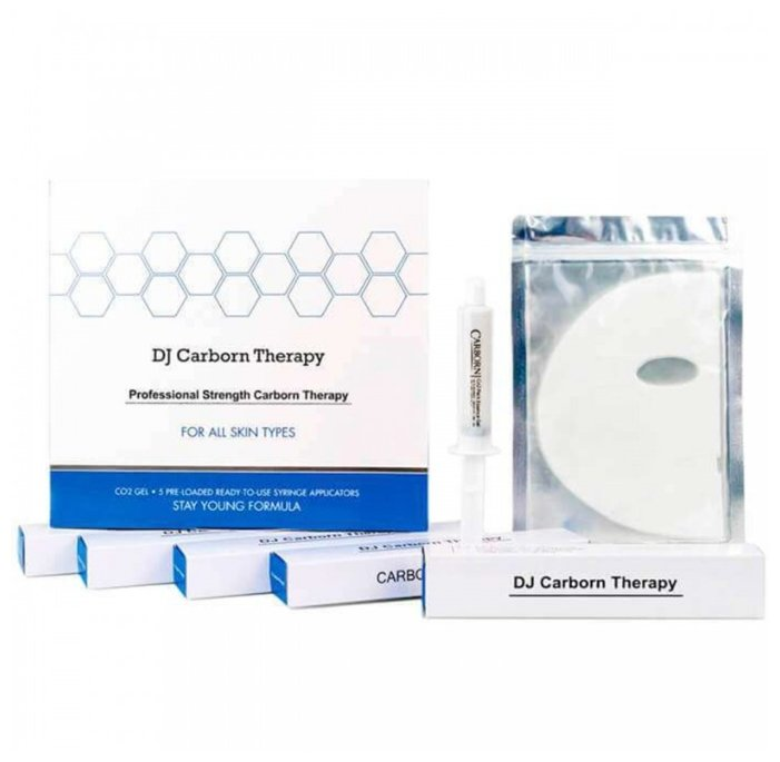 Daejong Medical DJ Carborn Therapy Profession Strength набор для карбокситерапии в домашних условиях, 25 мл, 5 шт.