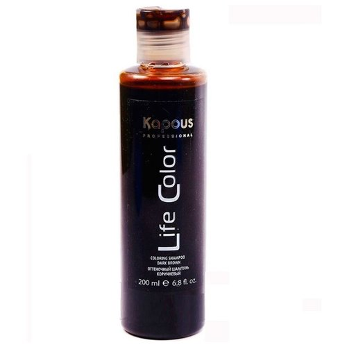 Шампунь Kapous Professional Life Color Коричневый shampoo, 200 мл