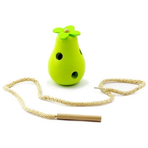 Купить Шнуровка Мир деревянных игрушек Груша (Д262) салатовый, Шнуровки