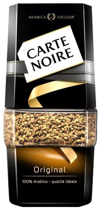 Кофе Carte Noire Кофе растворимый Carte Noire Original 95 гр. (стекло)