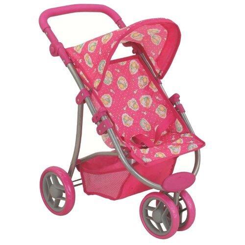 Прогулочная коляска Buggy Boom Nadin (8340) розовый/ангелыКоляски для кукол<br>