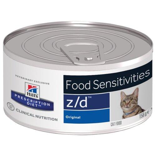 Корм для кошек Hills Prescription Diet при аллергии, при чувствительном пищеварении, для здоровья кожи и шерсти 156 г (паштет)Корма для кошек<br>