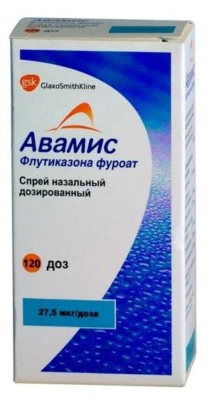 Авамис спрей наз. дозир. 27,5 мкг/доза фл. 120доз