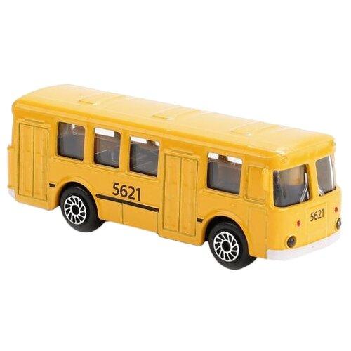 Фото - Автобус ТЕХНОПАРК рейсовый (SB-16-88-BLC), 7.5 см, желтый автобус технопарк рейсовый sb 16 88 blc 7 5 см желтый