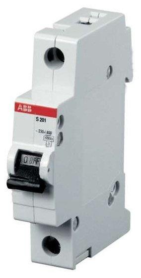 Автоматический выключатель ABB SH201L 1P (C) 4,5kA