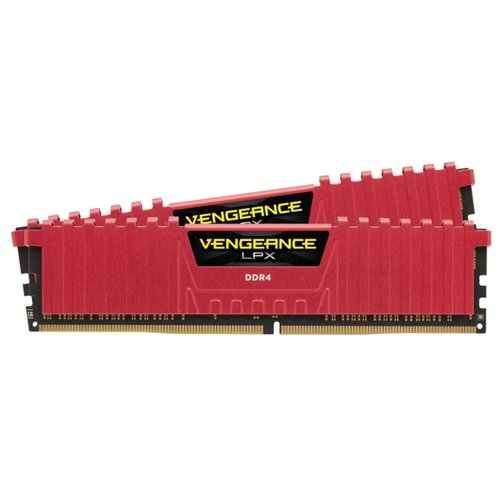 Оперативная память Corsair Vengeance LPX DDR4 3200 (PC 25600) DIMM 288 pin, 8 ГБ 2 шт. 1.35 В, CL 16, CMK16GX4M2B3200C16R