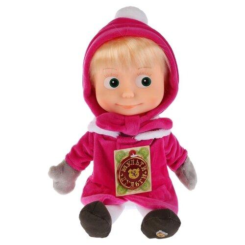Интерактивная кукла Мульти-Пульти Маша в зимней одежде, в пакете, 29 см, V92448/30AB, Куклы и пупсы  - купить со скидкой