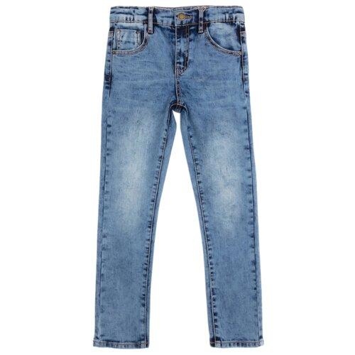 Джинсы playToday размер 116, синий джинсы женские zarina цвет синий 8123414717103 размер 46