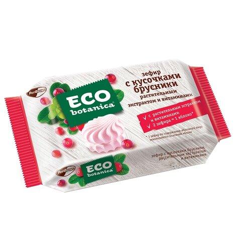 шоколад eco botanica горький с клюквенными ягодами 85г Зефир Eco botanica с кусочками брусники, растительным экстрактом и витаминами 250 г