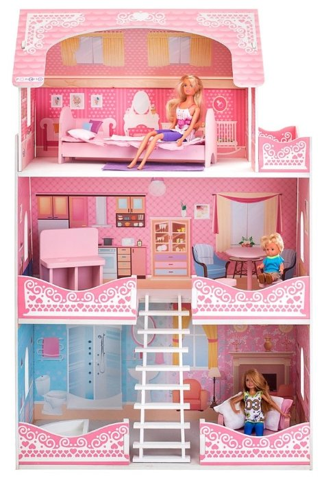 """PAREMO кукольный домик """"Адель Шарман"""" (с мебелью) PD318-07 — купить по выгодной цене на Яндекс.Маркете"""