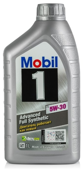 Моторное масло MOBIL 1 X1 5W-30 1 л