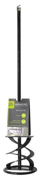 Насадка-миксер для перфоратора SDS-plus Armero A241/126 120x600 мм
