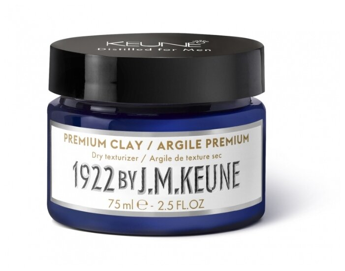 Keune Глина 1922 BY J.M. KEUNE Premium Clay, сильная фиксация
