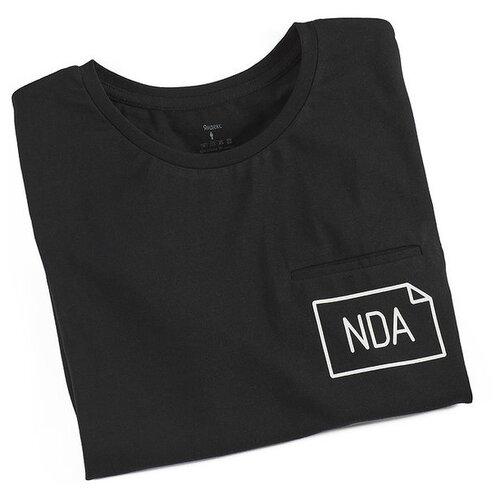 Футболка «NDA» Яндекс женская (размер S), черный