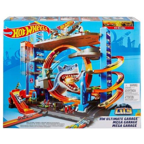 Купить Трек Hot Wheels City HW Ultimate Garage FTB69, Детские треки и авторалли