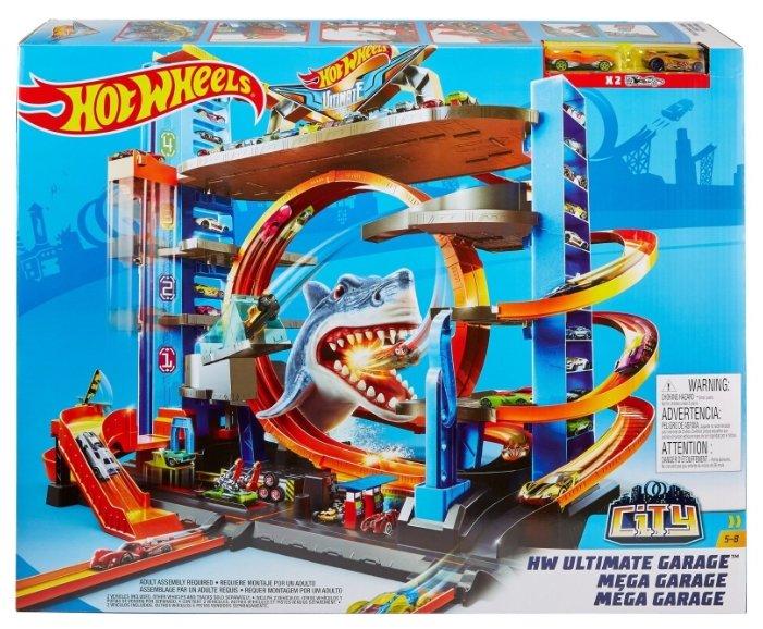 Трек Hot Wheels City HW Ultimate Garage FTB69 — купить и выбрать из более, чем 14 предложений по выгодной цене на Яндекс.Маркете