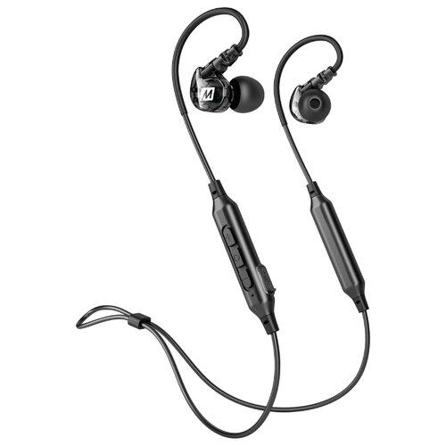 Беспроводные наушники MEE audio X6 черный наушники mee audio m6 2018 clear m6g2 cl