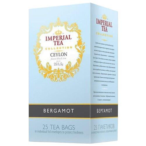 Чай черный Императорский чай Collection Ceylon Bergamot в пакетиках, 25 шт.