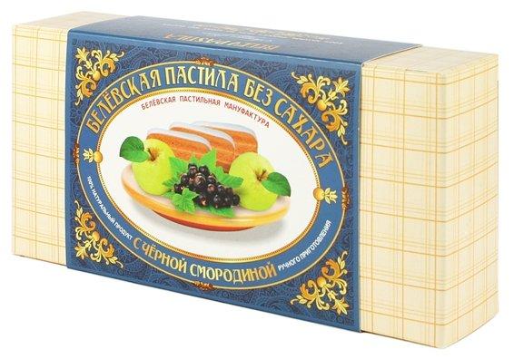 Пастила Белевская пастильная мануфактура Белёвская без сахара с черной смородиной 180 г