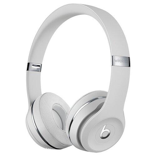 Беспроводные наушники Beats Solo3 Wireless атласное серебро беспроводные наушники beats solo3 wireless атласное серебро