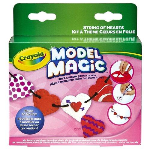 Фото - Масса для лепки Crayola Бусы из сердечек (57-2014) crayola набор для лепки из теста crayola мини 1