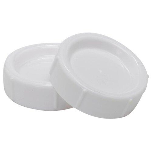Купить Dr. Brown's Крышка для бутылочки с широким горлом, 2 шт., белый, Бутылочки и ниблеры