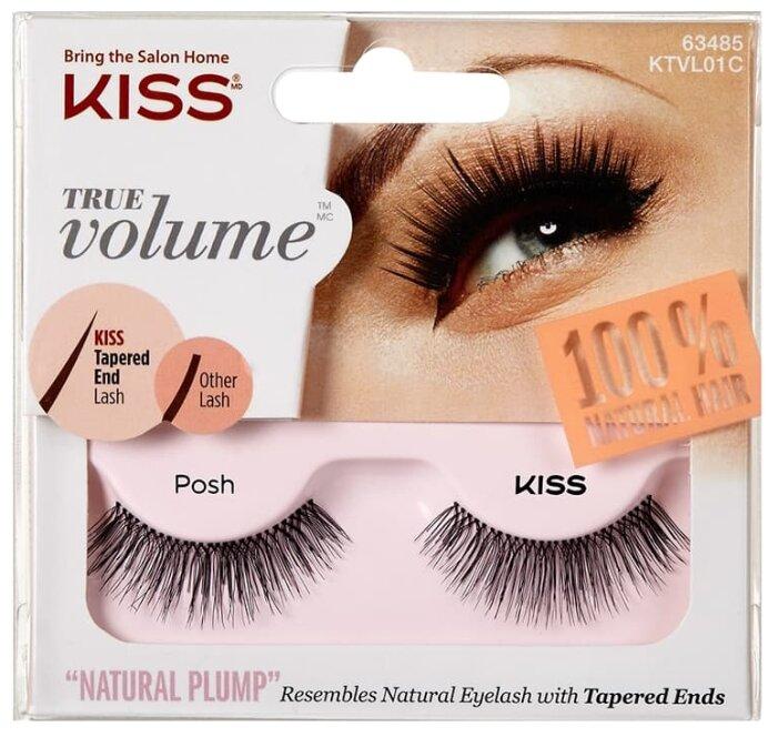 Kiss накладные ресницы True Volume Posh
