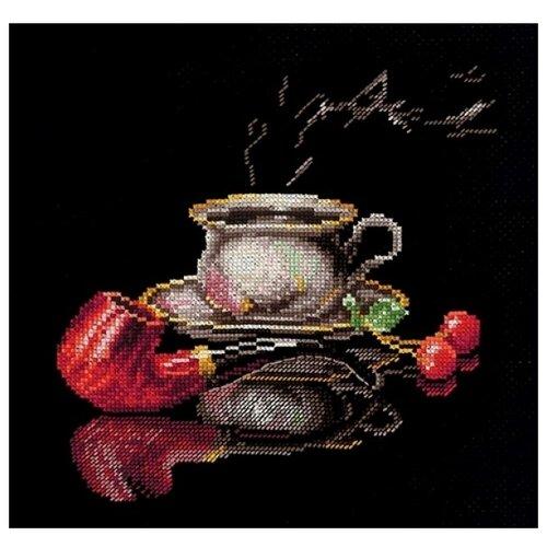 Купить Сделай своими руками Набор для вышивания крестиком Кофе для него 25 х 22 см (К-27), Наборы для вышивания