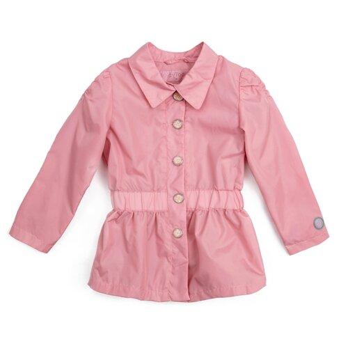 Плащ playToday 182056 размер 110, светло-розовый светло розовый плащ с поясом visconf