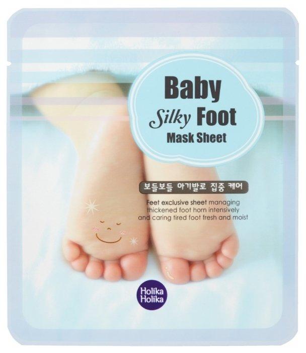 Holika Holika Маска для ног Baby Silky 1 пара