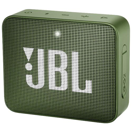цена на Портативная акустика JBL GO 2 moss green