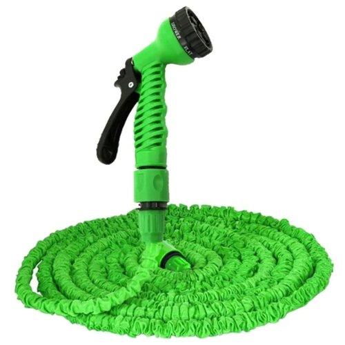 Комплект для полива XHOSE Magic Hose 75 метров (с распылителем) зеленый комплект для полива xhose magic hose 45 метров с распылителем зеленый