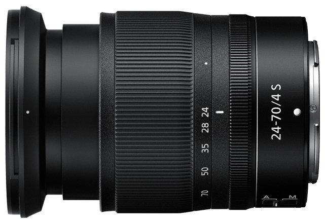 Объектив Nikon 24-70mm f/4S Nikkor Z