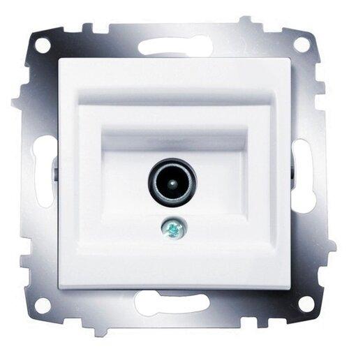 Антенное гнездо ABB Cosmo 619-010200-274, белыйРозетки, выключатели и рамки<br>