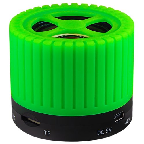 Портативная акустика Ginzzu GM-988 зеленый портативная акустика ginzzu gm 988r