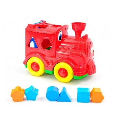 Сортер Orion Toys Паровозик Кукушка сортер orion toys логика шар 177 в 2 1018728 белый красный