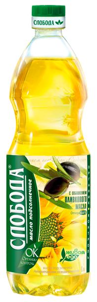 Слобода Масло подсолнечное с добавлением оливкового