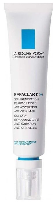 La Roche-Posay Корректирующая эмульсия для жирной кожи EFFACLAR K(+)