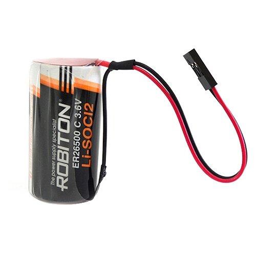 Фото - Батарейка ROBITON ER26500-DP с коннектором PH1, 1 шт. батарейка robiton er26500 dp с коннектором ph1 1 шт