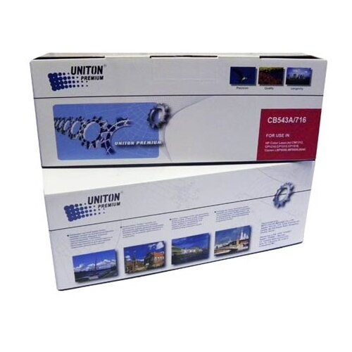 Картридж Uniton Premium CB543A, совместимый
