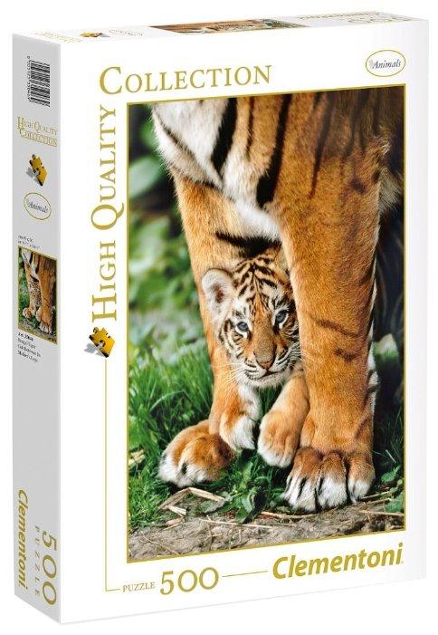 Пазл Clementoni High Quality Collection Бенгальский тигренок (35046), 500 дет.