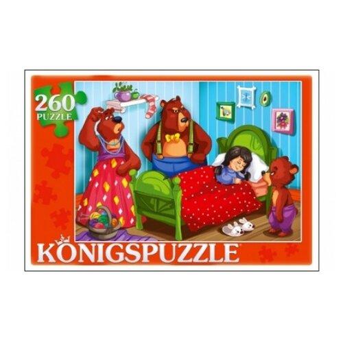 Фото - Пазл Рыжий кот Konigspuzzle Три медведя (ПК260-6852), 260 дет. пазл рыжий кот konigspuzzle россия йошкар ола гик1000 6534 1000 дет