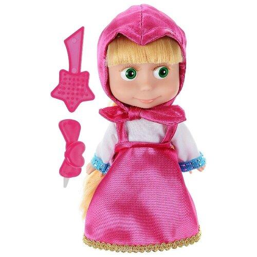 Купить Интерактивная кукла Карапуз Маша и Медведь 15 см 83030X, Куклы и пупсы