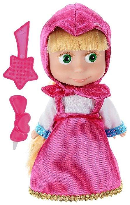 Интерактивная кукла Карапуз Маша и Медведь 15 см 83030X