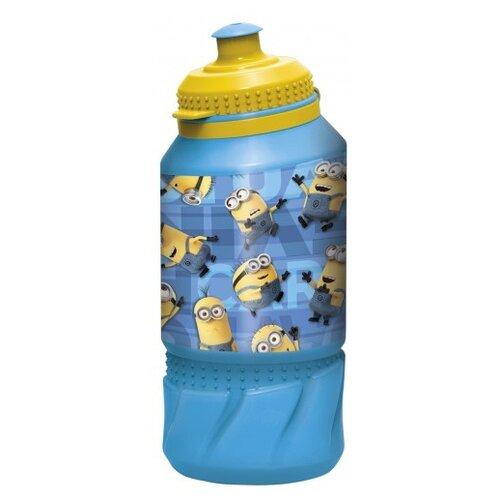 Бутылка для воды, для безалкогольных напитков Stor спортивная 0.42 пластик Миньоны Правила