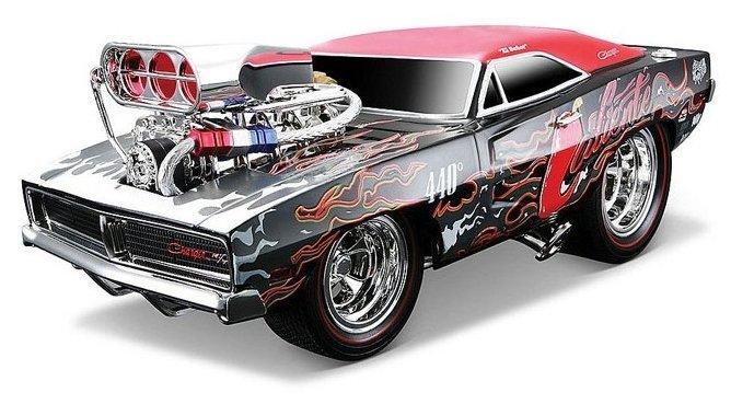 Легковой автомобиль Maisto Muscle Machines - Dodge Charger R/T 1969 (32209) 1:18