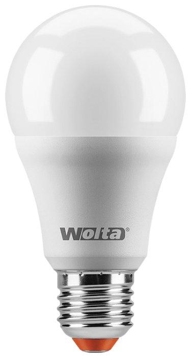 Лампа светодиодная Wolta 25Y, E27, A65, 20Вт — купить по выгодной цене на Яндекс.Маркете