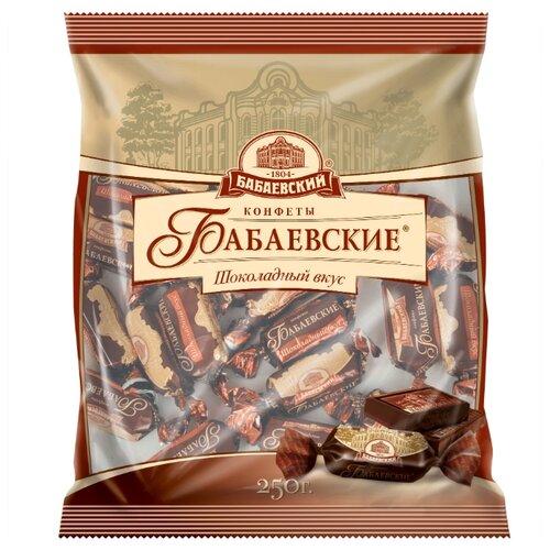 леденцы бабаевский ассорти карамельное 250 г Конфеты Бабаевский Бабаевские Шоколадный вкус, пакет 250 г