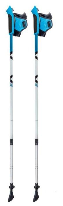 Палка для скандинавской ходьбы 2 шт. ECOS Телескопические Алюминиевые AQD-B020