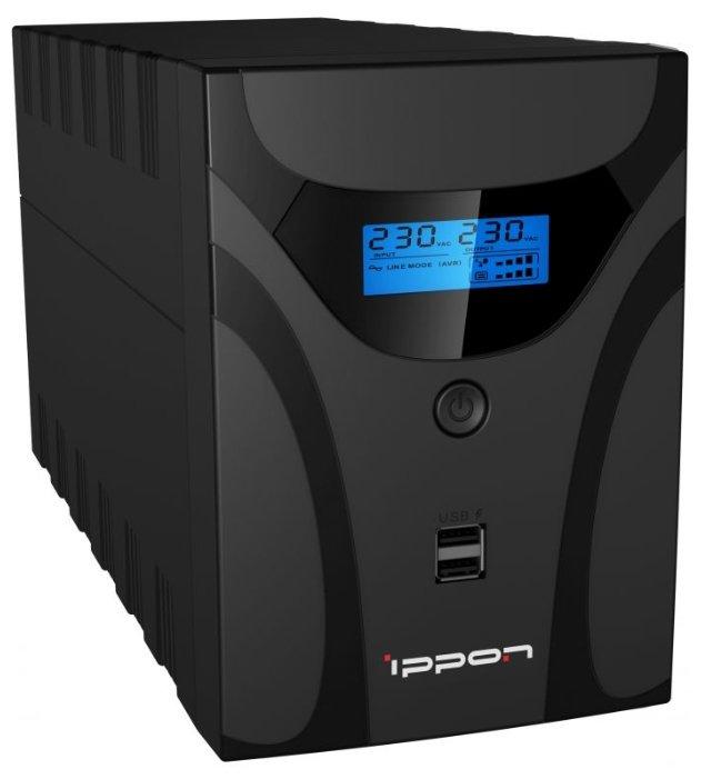 Интерактивный ИБП Ippon Smart Power Pro II Euro 1200